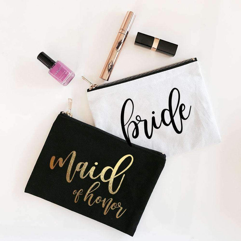 Bridesmaid Makeup Bag - Lucky Maiden
