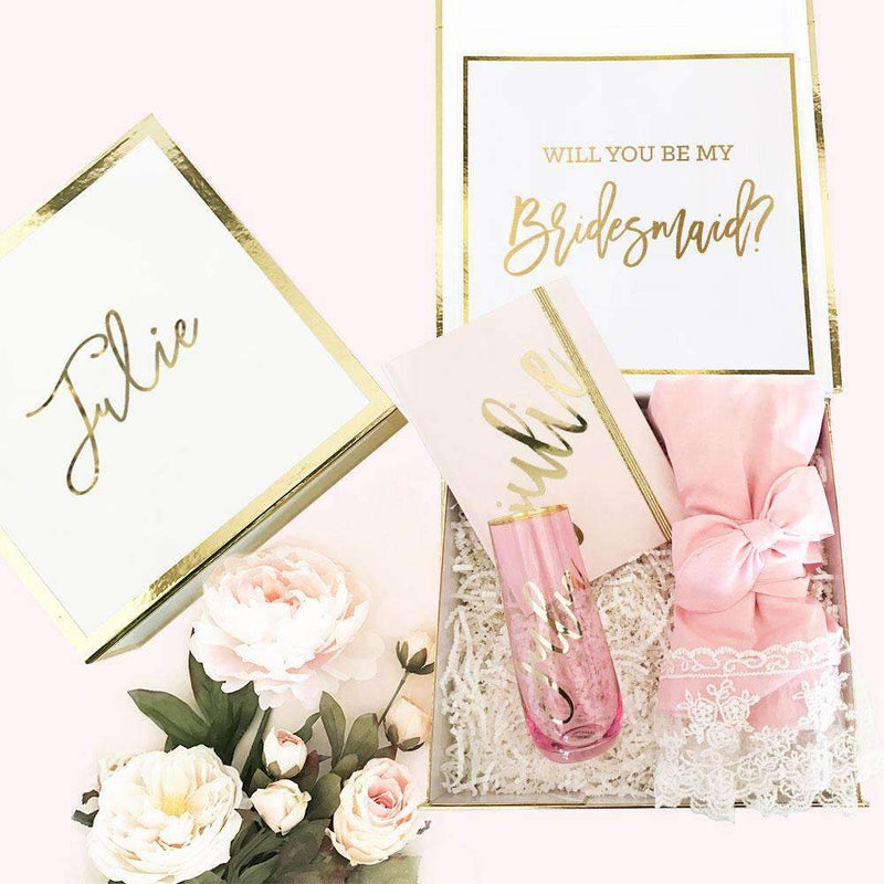 Bridesmaid Proposal Box with Robe - Lucky Maiden
