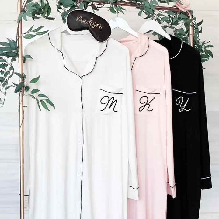 Bridesmaid Getting Ready Shirts - Lucky Maiden