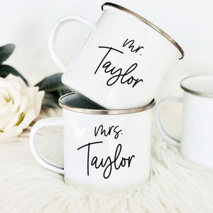 Personalized Campfire Mug - Lucky Maiden