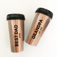 Custom Best Man and Groomsmen Travel Tumbler