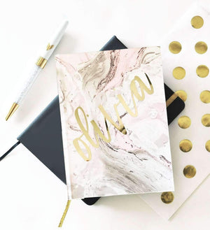 Personalized Journal With Name - Lucky Maiden