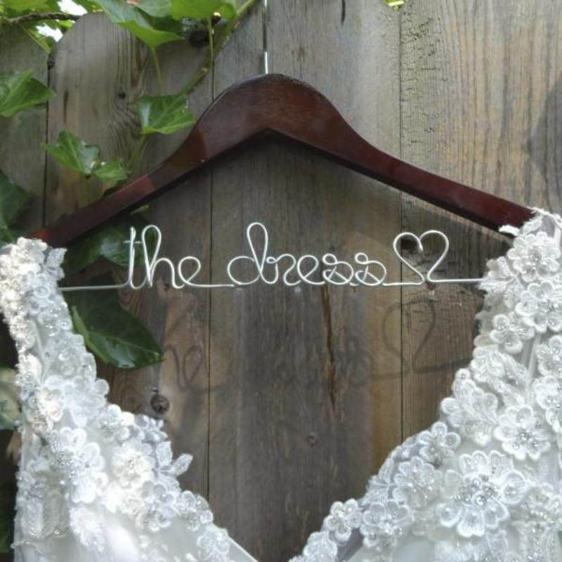 Custom Wedding Hangers For Bridal Party - Lucky Maiden