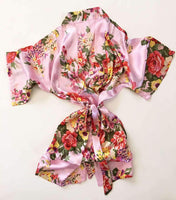 Flower Girl Robe in Floral