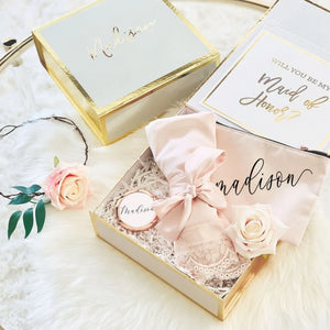 Gift Box for Bridesmaid - Lucky Maiden