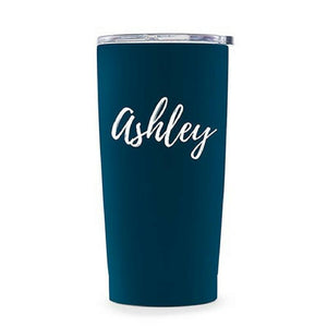 Insulated Travel Mug with Name - Lucky Maiden