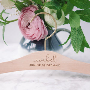 Flower Girl Wedding Hanger - Lucky Maiden