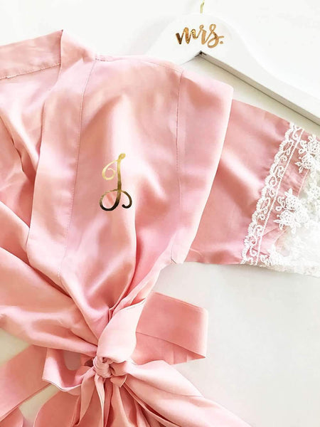 cheap satin robes for bridesmaids