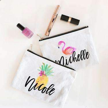Tropical Theme Makeup Bag - Lucky Maiden