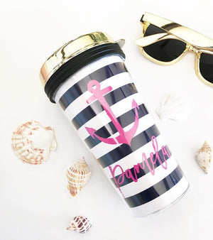 Tropical Theme Tumbler - Lucky Maiden