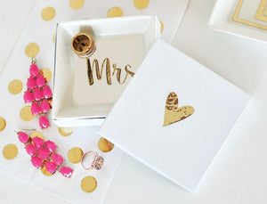 Wedding Gift Ring Dishes For Mr. and Mrs. - Lucky Maiden