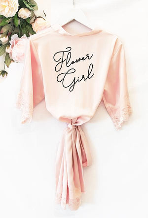 Robes for Wedding Party - Lucky Maiden