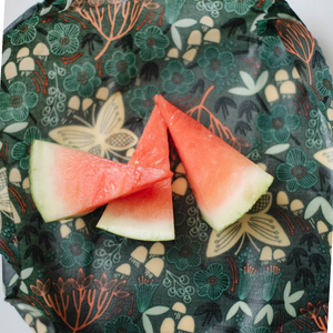 Best Beeswax food wraps with watermelon, made in Hamilton