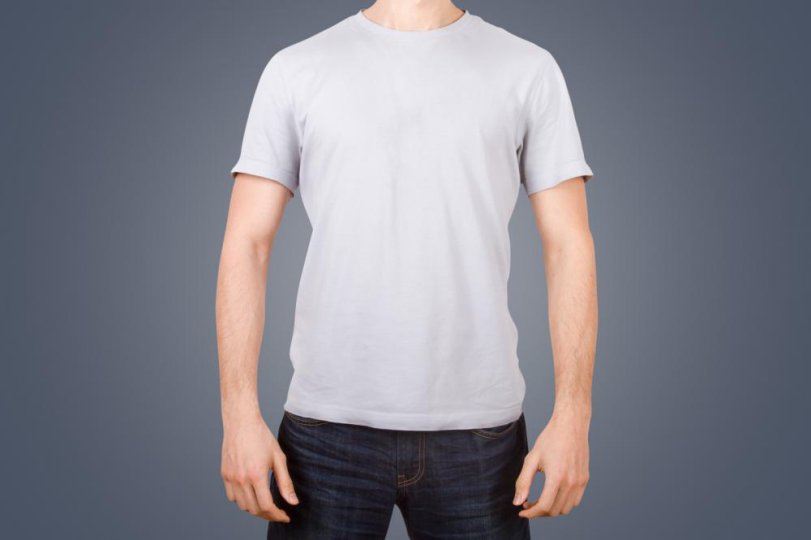 male model tshirt