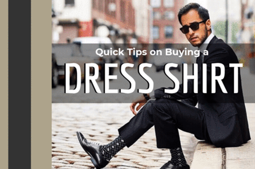 Quick Tips on Buying A Dress Shirt