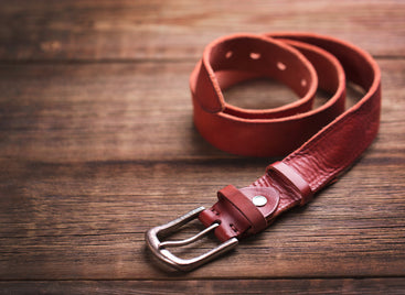 premium leather belts