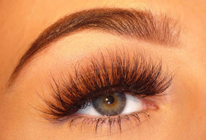 A11 Style 3D 100% Real Mink False Fluffy Curly Messy Eyelashes Pair - Dramatic Eyelashes