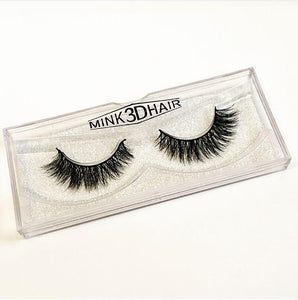 3D Mink Eyelashes - AVA - Side View - Dramatic Eyelashes