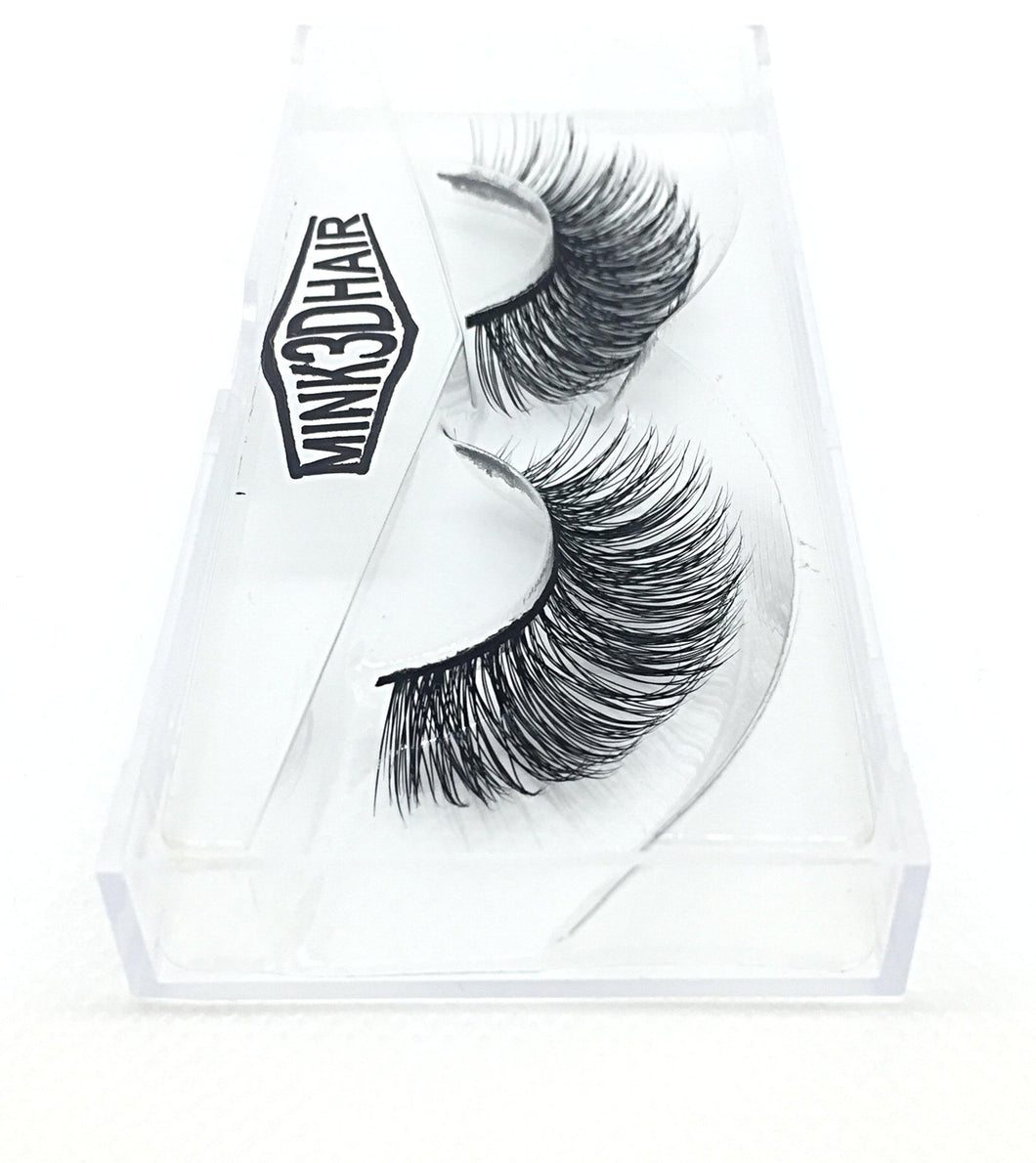 3D Mink Eyelashes - SD11-Eyelashes-Dramatic Eyelashes