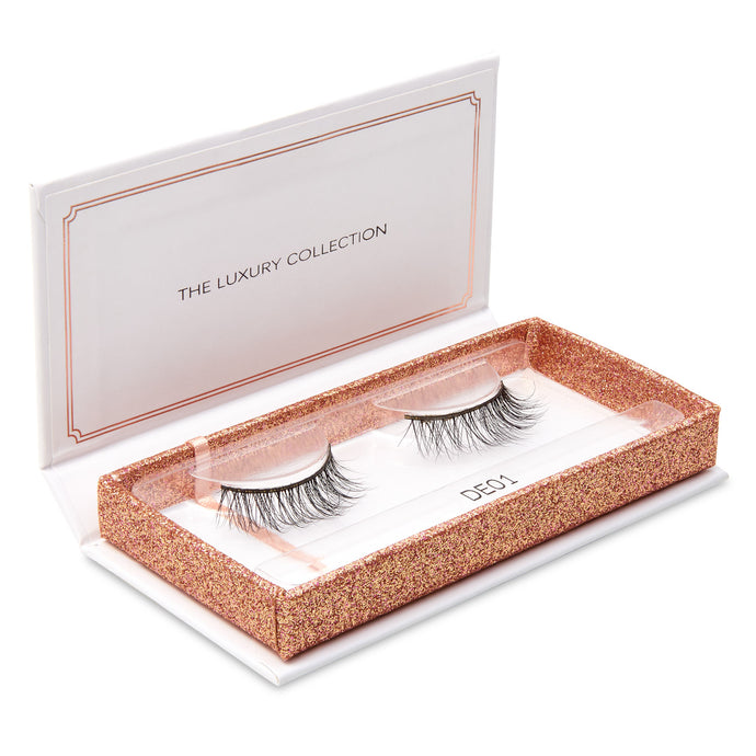 Luxury 3D Mink Eyelashes - DE01-Eyelashes-Dramatic Eyelashes