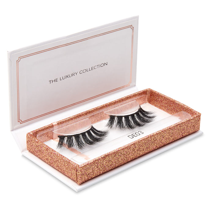 Luxury 3D Mink Eyelashes - DE03- Dramatic Eyelashes