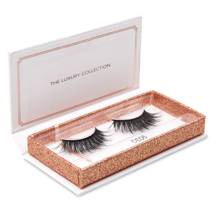 Luxury 3D Mink Eyelashes - DE06 - Dramatic Eyelashes