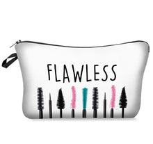 Load image into Gallery viewer, Makeup Cosmetic Bag - Flawless