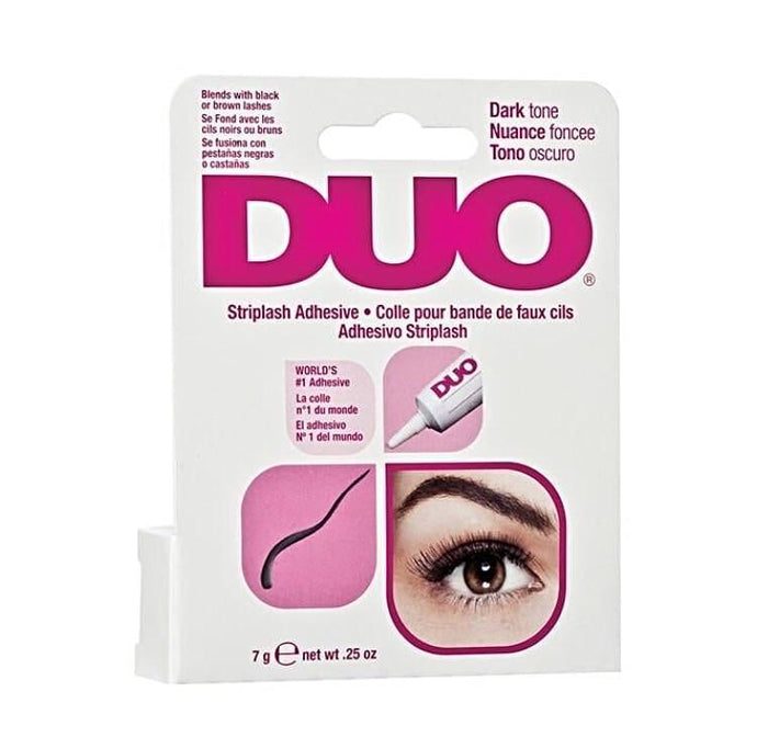 DUO Adhesive Black / Dark (7g)-Adhesive-Dramatic Eyelashes