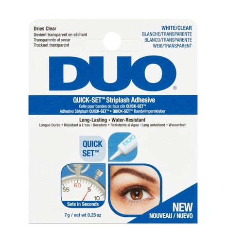 DUO Quick Set Adhesive White / Clear (7g)