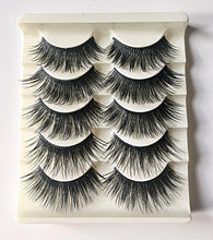 Load image into Gallery viewer, N10: Multi-Pack (5 Pairs) False Dramatic Thick Eyelashes-Eyelashes-Dramatic Eyelashes