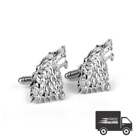 GOT House Stark Cufflinks