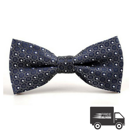 Blue Eye Bow Tie