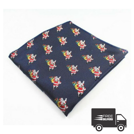 Santa Pocket Square