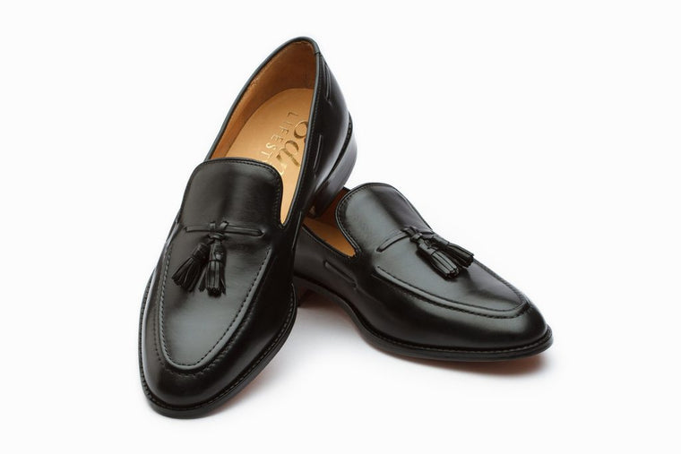 Tassel Loafers - Black