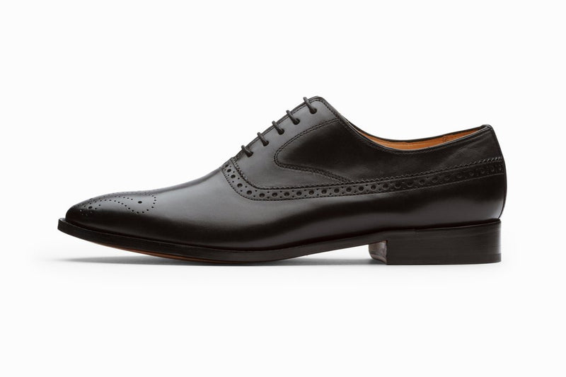 Medallion Brogue Oxford - Black