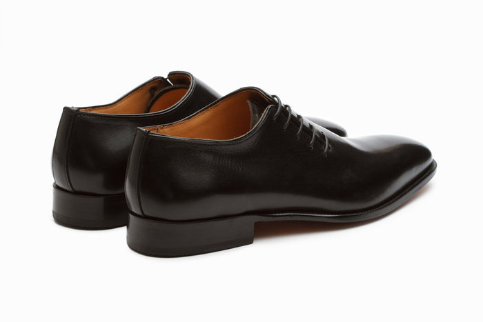 Plain Wholecut Oxford - Black