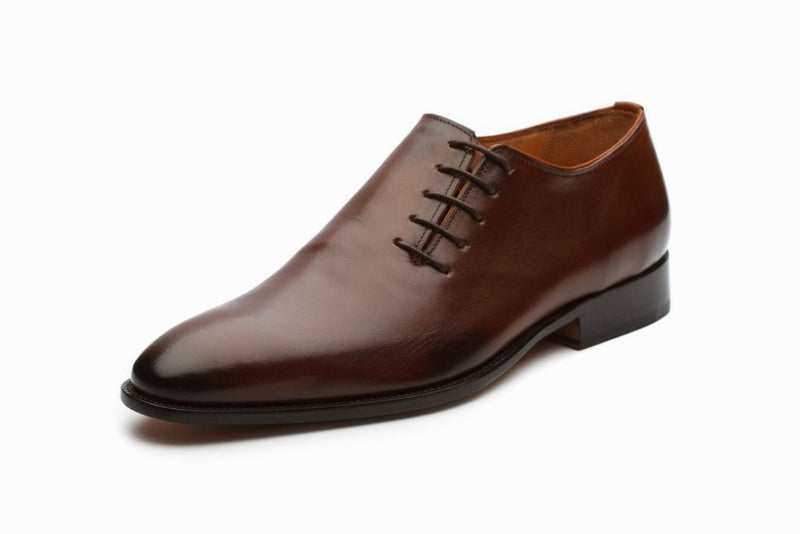 Plain Wholecut Oxford - Brown