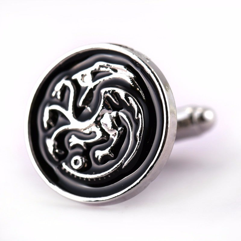 GOT House Targaryen Cufflinks