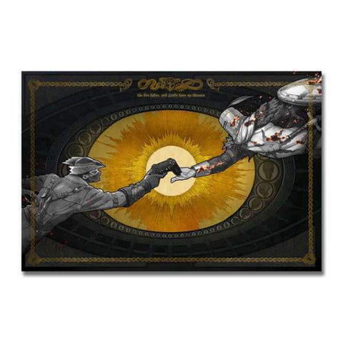 Dark Souls Poster - Play With Me Wopilix 30x45cm Canvas