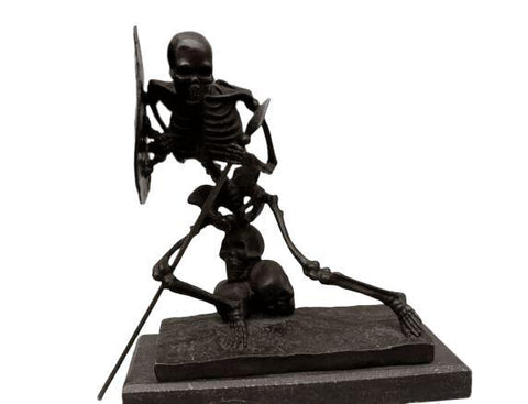 Dark Souls Statue - Skull Warrior BRONZE