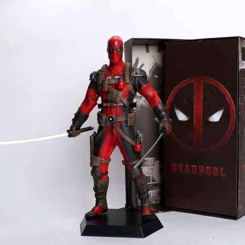Deadpool Figurine Comics - v 2.0 Wopilix Red