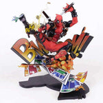 Figurine Comics - Deadpool Breaking The Fourth Wall Wopilix