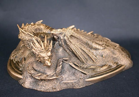 Figurine Lord of the Rings - Dragon Smaug (Résin) Wopilix gold