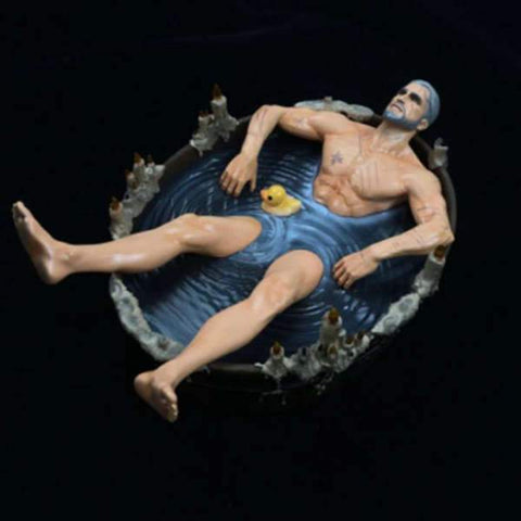Figurine The Witcher - Geralt Bath Wopilix