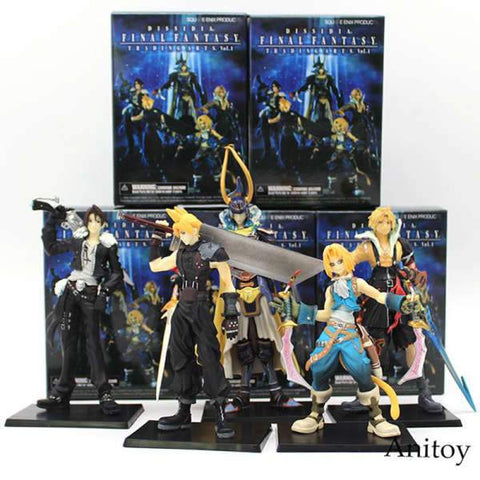 Final Fantasy Figure - Warrior of Light (5pcs/set) Wopilix