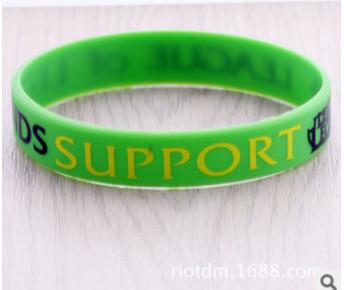League Of Legend Bracelet - Silicon Wopilix green