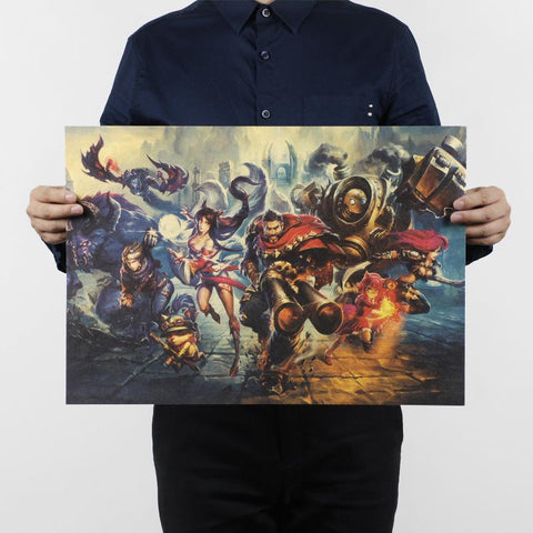League of Legends Poster - Classic Wopilix