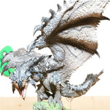 Monster Hunter Figure - Lioleus Wopilix B Original Silver