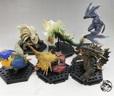 Monster Hunter Figure - Shogun Wopilix 6pcs and 1 gift