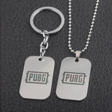 Player Unknown's Necklace & Keychain - Winner Chicken Dinner Wopilix